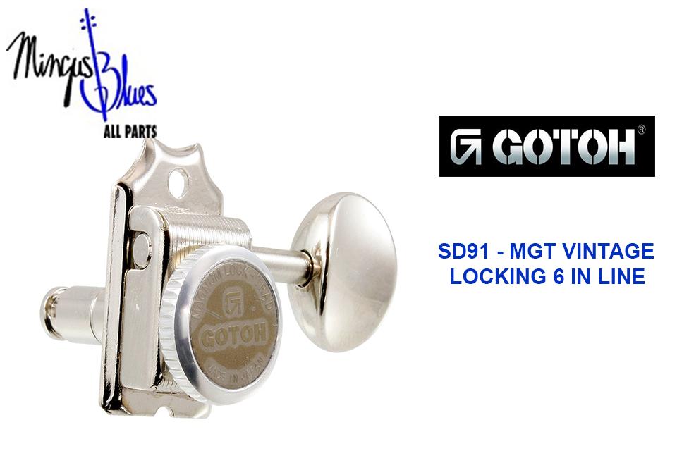 GOTOH, SD91 MGT – SET DE CLAVIJEROS VINTAGE 6L LOCKING